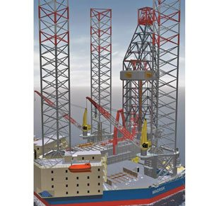 High efficiency Jack-up Derrick